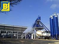 Мобильный бетонный завод EUROMECC FAST 80