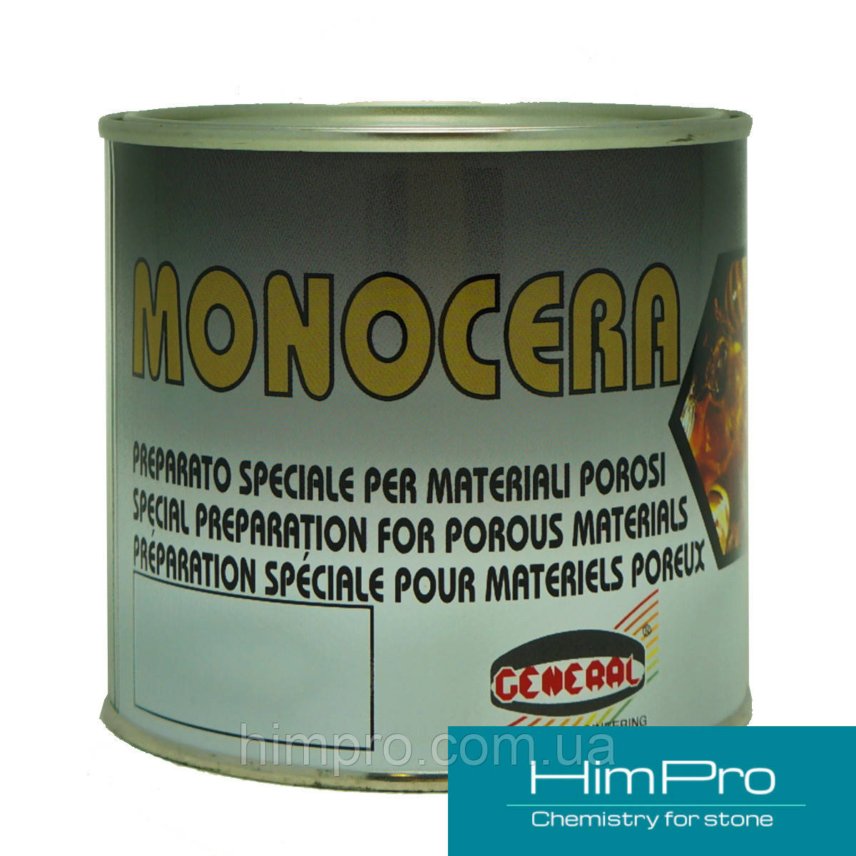 MONOCERA NERO 0.5L black General  черный, густой воск