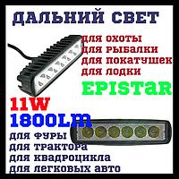 Дополнительные светодиодные фары дальнего света 18W 10-32V CYCLONE WL-302