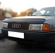 Дефлектор капота Audi 80 1986-1991, Мухобойка Audi 80