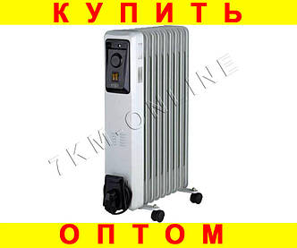 Масляный обогреватель ERGO 9 секций + ПОДАРОК