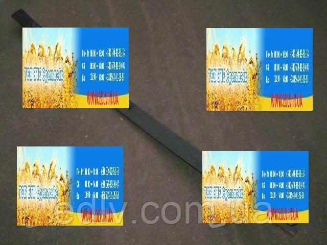 Лист рессоры №1 передней ЗИЛ 130 1513мм с накладкой в сборе (пр-во Чусовая) 131-2902100-11