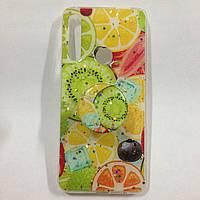 Чехол для Huawei P Smart Z Fruits+Popsocket