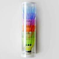 Волан FLASH SHМ-10С пластиковый цветной