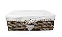 """Корзина плетеная Natural House """"Изюминка"""", 40х29х14 см (FB-44M), фото 1"""