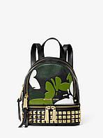 Рюкзак женский Michael Kors Mini Camo Backpack Black цвет Черный (BW-0403)
