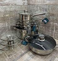Набор посуды 12 предметов RAINBERG RB-601