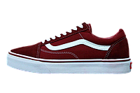 Кеды Vans Old Skool Bordo White