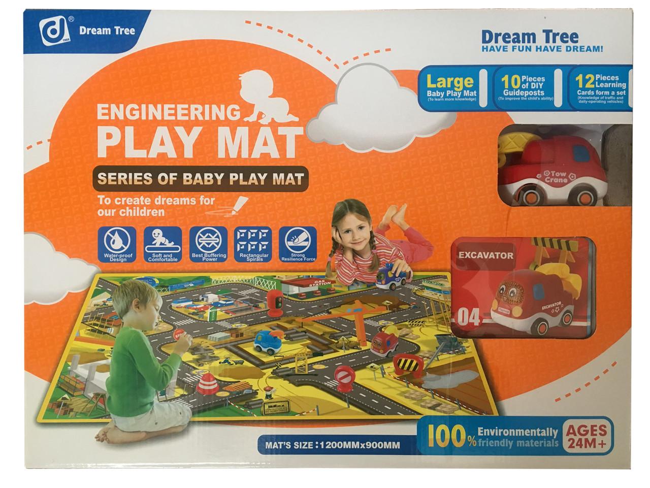 Детский игровой коврик Dream Tree Engineering