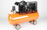 Компрессор LEX - LXC100 |   400 л/мин 2,2 кВт - 100 л. Чугунный блок (2-x поршневый масляный)