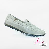 Туфли мужские летние слипоны