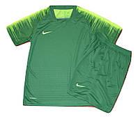 Футбольная форма игровая Nike ( цвет-зеленый-салатовый)