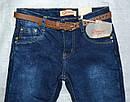 Детские джинсы с флисом для девочки темно-синие (р.140 см) (Grace, Венгрия), фото 2
