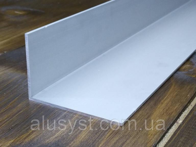 Алюминиевый уголок, Анод, 60х40х2 мм