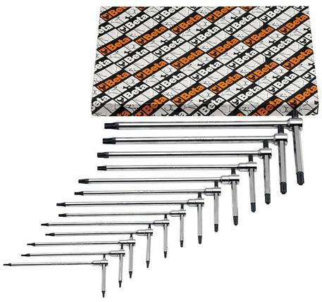 951TX/S13 - Набор Т-подібних ключів Torx, фото 2