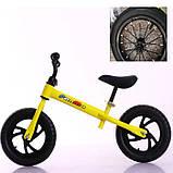 Беговел велобег Tilly 12 дюймов Надувные T-212514, фото 2