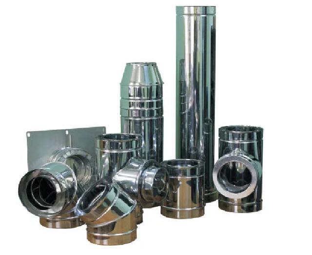 Дымоходные трубы из оцинковочной стали