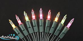 Гирлянда светодиодная для дома.Свечи мультицвет 10 м.LED гирлянда для украшения интерьера.Нидерланды
