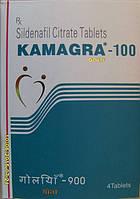 Таблетки для повышения потенции Камагра  Kamagra Sildenafil Citrate 100 мг Капсулы