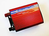 Інвертор перетворювач 500W, 12V з вольтметром, фото 4