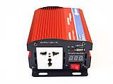 Інвертор перетворювач 500W, 12V з вольтметром, фото 6