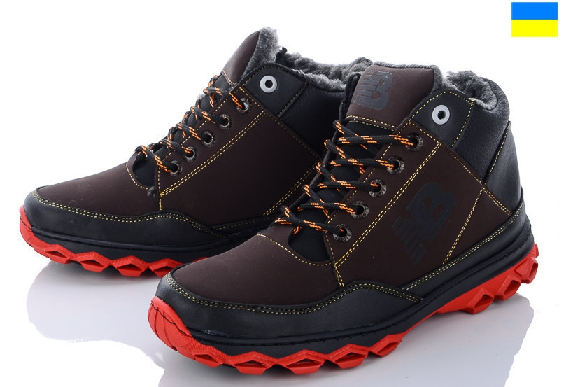 Ботинки Lvovbaza Ankor Б11 коричнево-красные