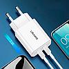 Сетевое зарядное устройство Usams US-CC067 T13 2USB Port, 2.1A, фото 2