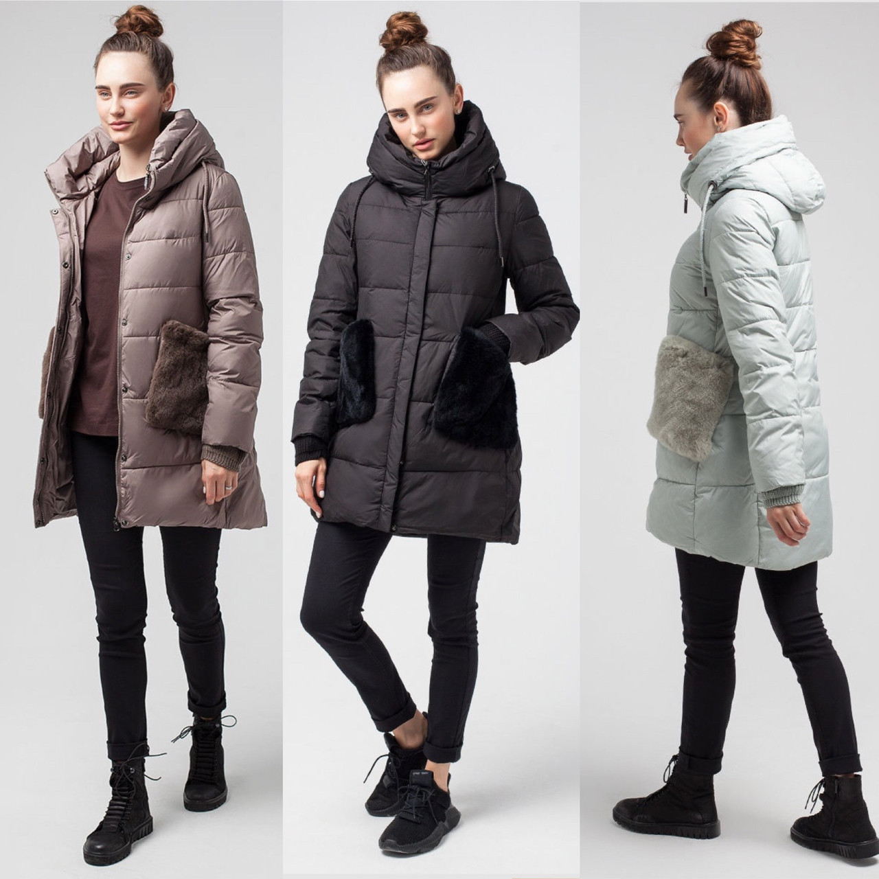 Зимняя Куртка Оригинал LORA DUVETTI . Цвета и Размеры в наличии  (42-50)