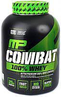 MPH Combat 100% Whey 0,9 кг - клубника, фото 1