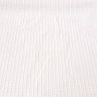 Вафельная ткань кремовая однотонная, ширина 45 см