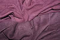 Ткань Ангора Арктика, баклажан (темный фиолет) , пог. м., фото 1
