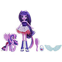 Кукла Искорка с пони - My Little Pony Equestria Girls Twilight Sparkle