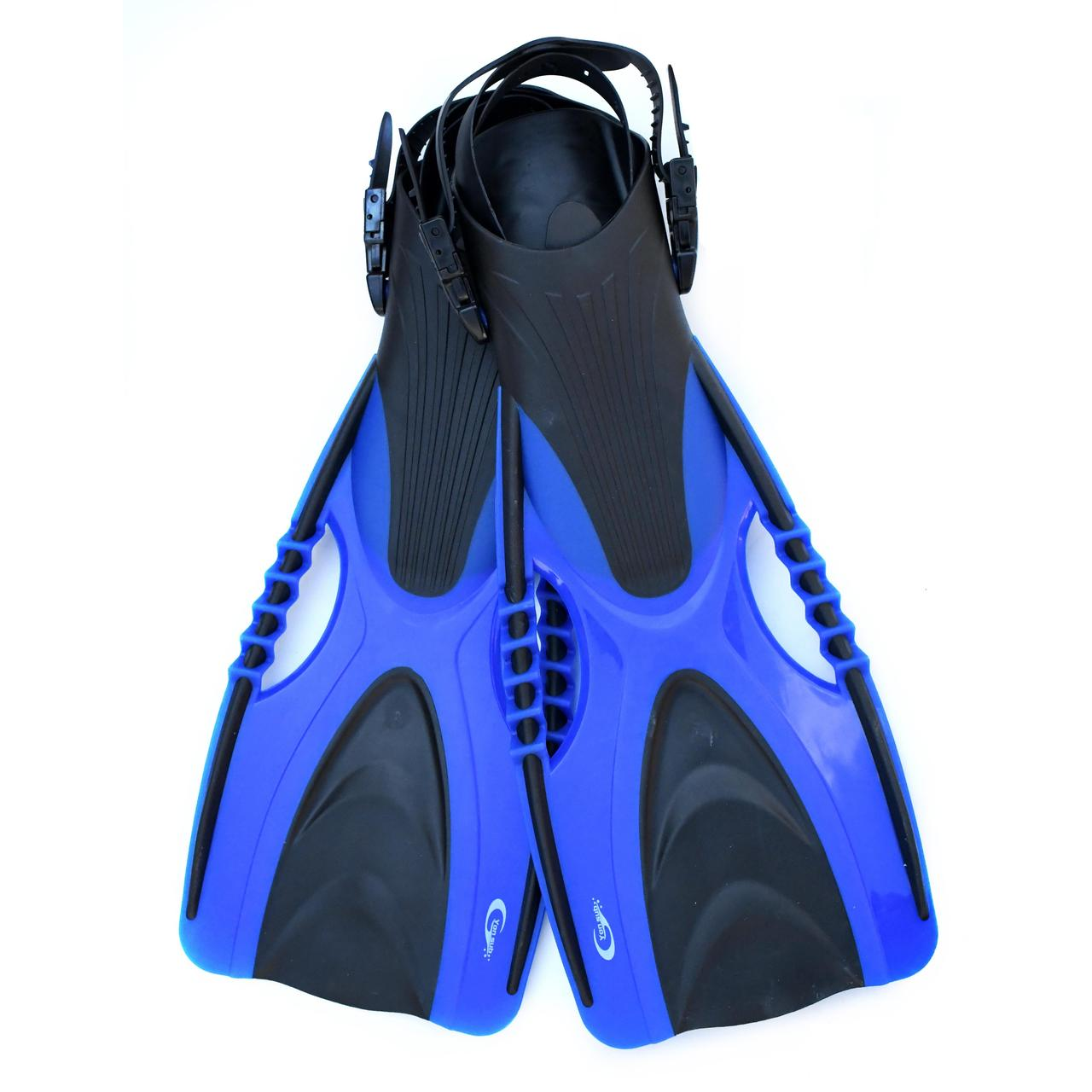 Ласты для плавания YF88 размер S/M (36-40) синие