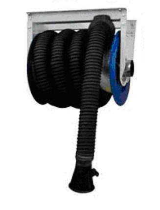 Механический вентиляционный барабан с шлангом 7.5 м., фото 2