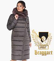 Воздуховик Braggart Angel's Fluff 31049 | Зимняя женская куртка капучино