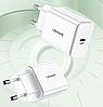 Сетевое зарядное устройство Usams US-CC069 T14 PD Fast Travel USB (EU) 3.A, фото 4