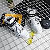 """Мужские зимние кроссовки Nike Air Force 1 Mid '07 LV8  """"White/Black"""", фото 5"""