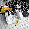 """Мужские зимние кроссовки Nike Air Force 1 Mid '07 LV8  """"White/Black"""", фото 7"""