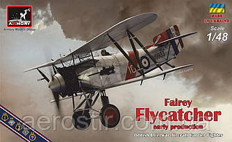 "Fairey ""Flycatcher"" (FAA), ранняя версия 1/48 Armory 48001"