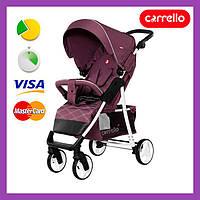 Коляска прогулочная Carrello Quattro фиолетовая (CRL-8502/2) с дождевиком, Карелло Кватро