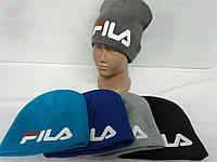 "Шапка зимняя трёхнитка размер  48 "" FILA "" РЕПЛИКА"