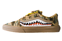 Кеды Vans Old Skool x BAPE Brown
