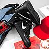 """Мужские зимние кроссовки Nike Air Force 1 Mid '07 LV8  """"Black"""", фото 4"""