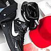 """Мужские зимние кроссовки Nike Air Force 1 Mid '07 LV8  """"Black"""", фото 6"""