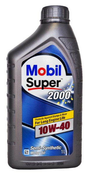 Масло моторное Mobil Super 2000  1L