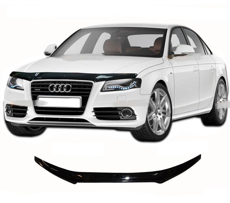 Дефлектор капота  Audi A4  2008–2011, Мухобойка Audi A4