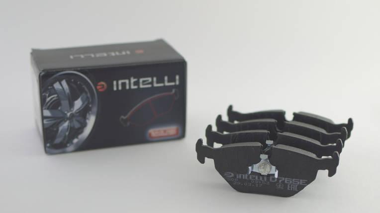 Гальмівні колодки дискові задні BMW 5 E34 DAFMI INTELLI, фото 2