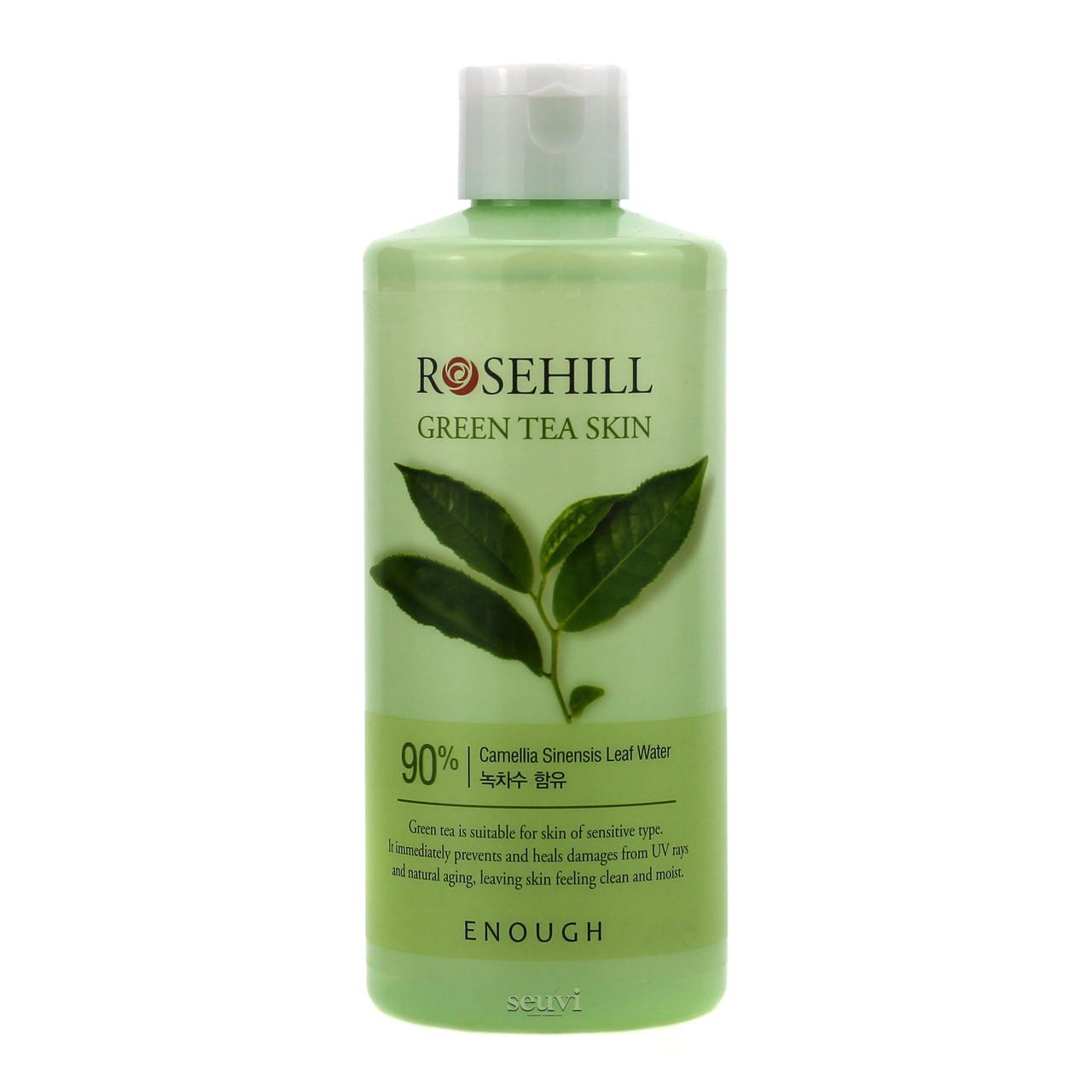 Тонер с зеленым чаем Enough Rosehill Green Tea Skin 90% - 300 мл