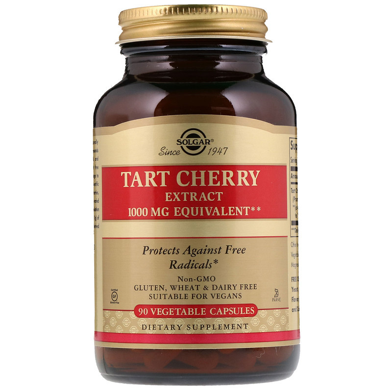 "Экстракт терпкой вишни SOLGAR ""Tart Cherry Extract"" (90 капсул)"