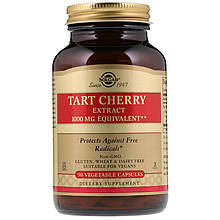 "Экстракт терпкой вишни SOLGAR ""Tart Cherry Extract"" (90 капсул)"